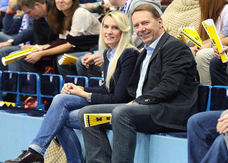 Jochen Hagt mit seiner Tochter Anika